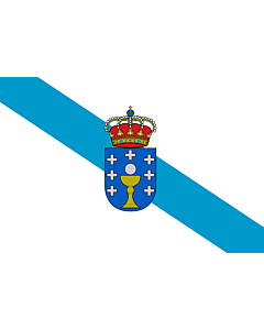 Fahne: Galicia