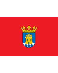 Fahne: Alcalá de Henares | D Alcalá de Henares | Alkalao | Alcalá de Henaresko bandera | E Alcalá de Henares | Bandièra d Alcalá de Henares