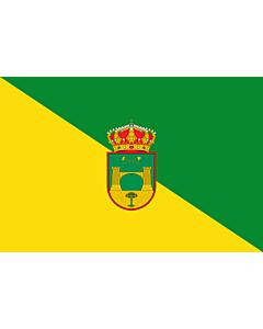 Fahne: Beires | Beires municipality  Almería province - Spain | Municipio de Beires  Almería - España  Según la descripción Paño rectangular vez y media mas largo que ancho