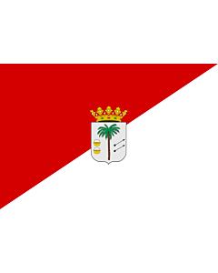 Fahne: Palma del Condado | La Palma del Condado, Huelva, Spain | Palma del Condado, Huelva, España