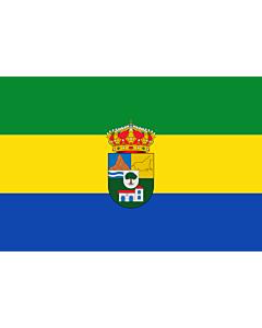 Fahne: Tres Villas | Municipio de Las Tres Villas en la Provincia de Almería  España
