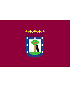 Fahne: Madrid