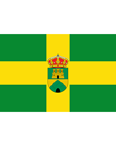Fahne: Oria | Municipio de Oria en la Provincia de Almería  España