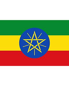 Fahne: Äthiopien