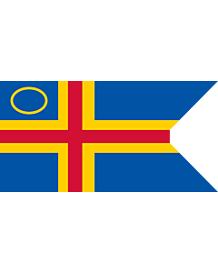 Fahne: Åland Yachting Clubs | This image shows a flag
