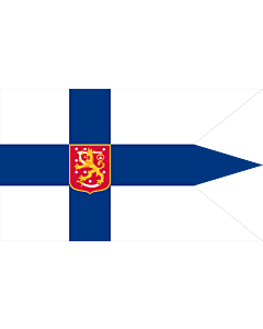 Fahne: Finland 1920-1978  Military | Military flag of Finland 1920-1978