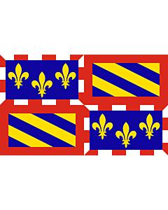 Fahne: Burgund