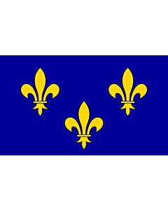Fahne: Île-de-France