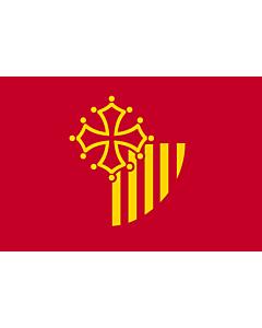 Fahne: Languedoc-Roussillon