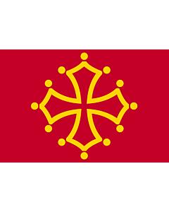 Fahne: Midi-Pyrénées