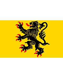 Fahne: Nord-Pas-de-Calais