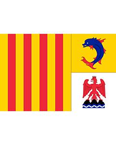 Fahne: Provence-Alpes-Côte d'Azur