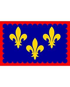 Fahne: Berry | Region Bérry in France | Région Bérry en France | Bérry