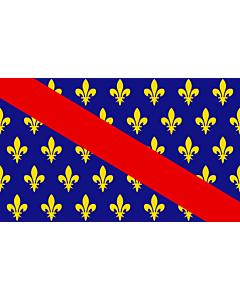 Fahne: Bourbonnais | French province of Bourbonnais