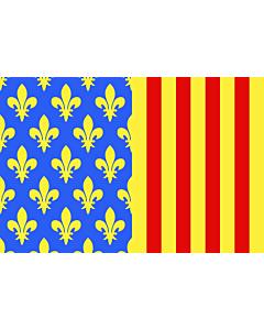 Fahne: Fr département Lozère | Lozère | Département de la Lozère
