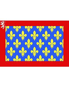 Fahne: Fr département Sarthe | Sarthe | Département de la Sarthe
