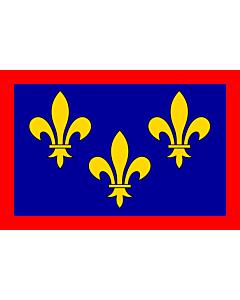 Fahne: France anjou
