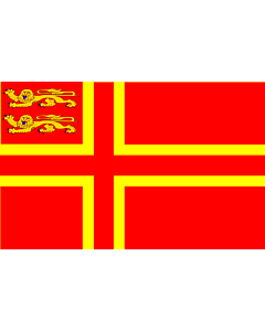 Fahne: Normandy flag falaise | Normandy,  of Falaise | Falaisien
