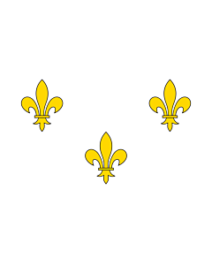 Fahne: Royalist France | Royalist France prior to 1789 and from 1814-30 I created this image as a vector replacement for Image French Fleur-De-Lis  White