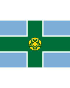 Fahne: Derbyshire