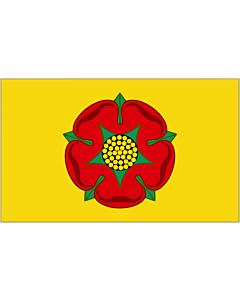 Fahne: Lancashire