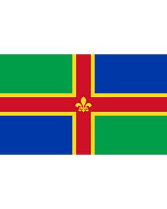Fahne: Lincolnshire