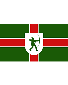 Fahne: Nottinghamshire