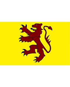Fahne: Powys