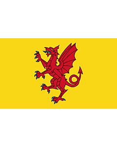 Fahne: Somerset