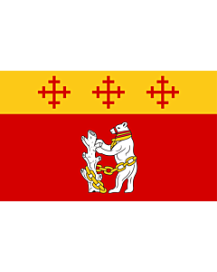 Fahne: Warwickshire