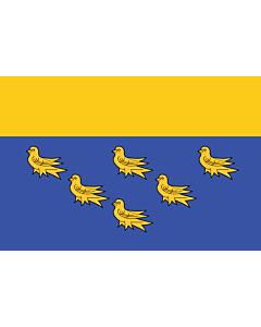 Fahne: West Sussex