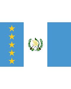 Fahne: President of Guatemala | En President of Guatemala standard | Estandarte del presidente de Guatemala
