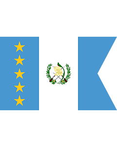 Fahne: Vice-President of Guatemala | Vice-presidential flag of Guatemala