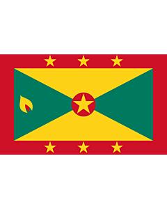 Fahne: Grenada