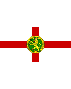 Fahne: Alderney | Couleu de Aurni