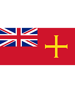 Fahne: Civil Ensign of Guernsey
