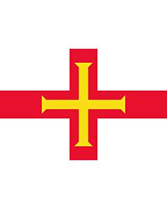 Fahne: Guernsey (Kanalinsel)