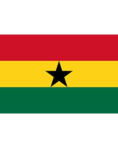 Fahne: Ghana