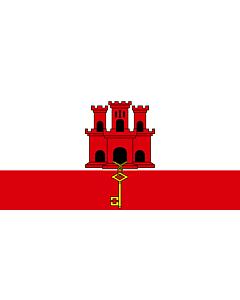 Fahne: Gibraltar