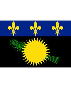 Fahne: Guadeloupe