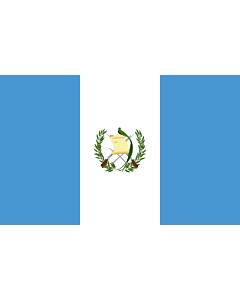 Fahne: Guatemala