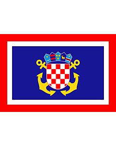Fahne: Naval Jack of Croatia