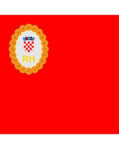 Fahne: Präsidenten des kroatischen Parlaments