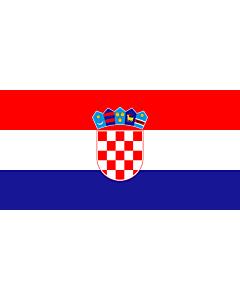 Fahne: Kroatien