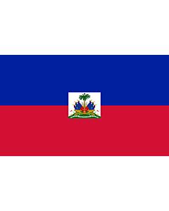 Fahne: Haiti