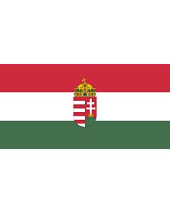 Fahne: Ungarn