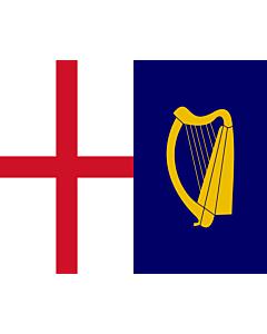 Fahne: Commonwealth-Flag-1649 | Commonwealth flag of 1649, as per FOTW United Kingdom Flags of the Interregnum