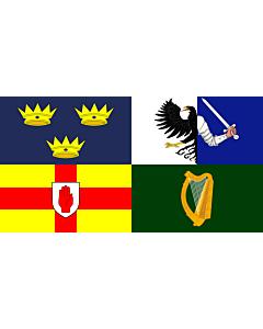 Fahne: Four Provinces Ireland
