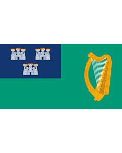 Fahne: IRL Dublin | Dublin City, Ireland
