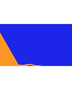 Fahne: Sunburst | Modern design of the Irish nationalist  Sunburst flag